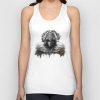 assassins creed Tank Tops featuring assassins creed ezio auditore by ururuty