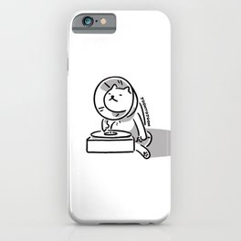 Gramocat iPhone Case