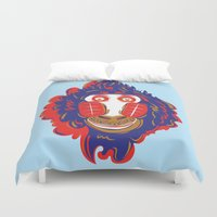 gorilla Duvet Covers featuring Gorilla by echo3005