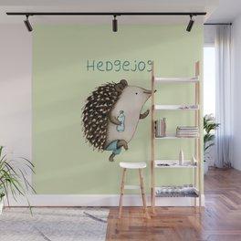 Hedgejog Wall Mural