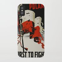 poland iPhone & iPod Cases featuring Poland First To Fight by Plecinoga Photography