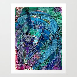 Grapefizz | Limited Edition of 50 Prints Art Print