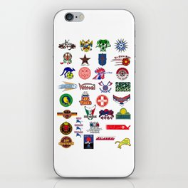 "World Cup 2018 the 32 contenders ""Nicknames"" iPhone Skin"