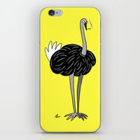 ostrich iPhone & iPod Skins featuring Ostrich? by Annadiplosis