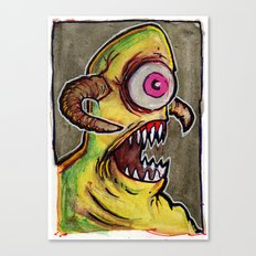 One Eyed Monster Canvas Print