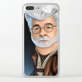 Lucas Clear iPhone Case
