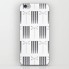 Dagonfly & nails iPhone & iPod Skin