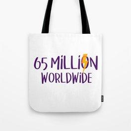 Worldwide Bolt Tote Bag