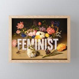 Feminist II Framed Mini Art Print