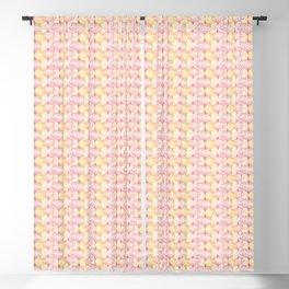 Pink and Orange Lanterns fantasy  Blackout Curtain
