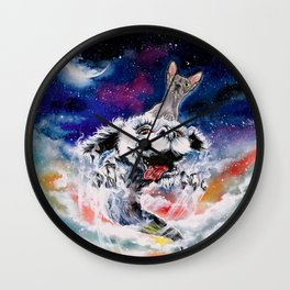 The ride of a lifetime Wall Clock