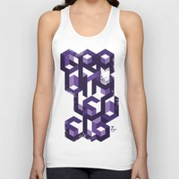 deadmau5 Tank Tops featuring Gravity Levels - Geometry by Sitchko Igor