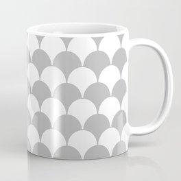 Fan Pattern 321 Gray Coffee Mug