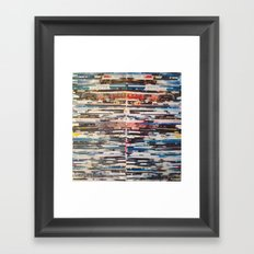 STRIPES 24 Framed Art Print