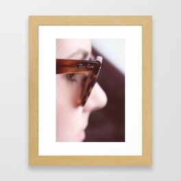 Ray Ban Framed Art Print