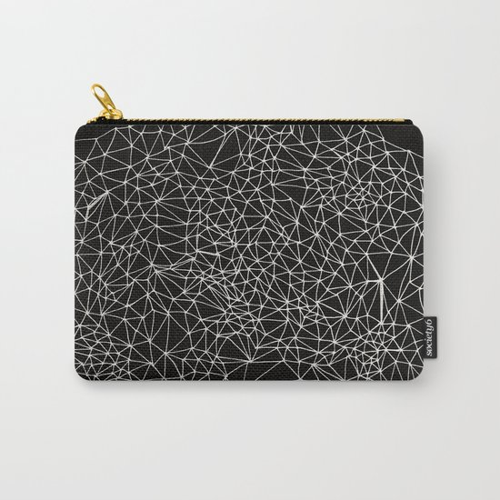 Geo Webbed Carry-All Pouch