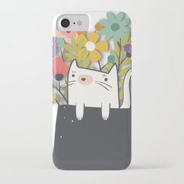 The Cat Is Back iPhone Case
