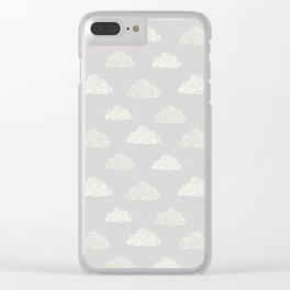 Cumulus Cloud Clear iPhone Case