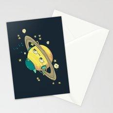 DJ Saturn Stationery Cards
