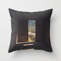 Room in the High Desert Throw Pillow