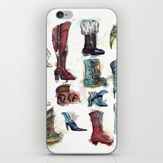 Boots of the World iPhone & iPod Skin