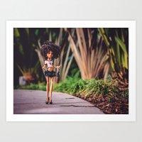 Custom Monster Girl Art Print