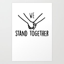 BMTH We Stand Together Art Print
