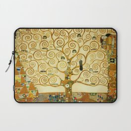 Gustav Klimt The Tree Of Life Laptop Sleeve