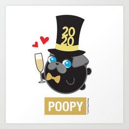 Poopy Art Print