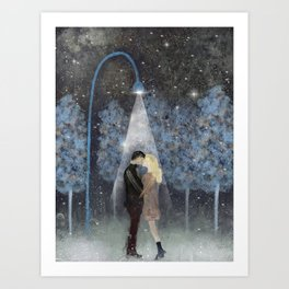 That magic moment Art Print