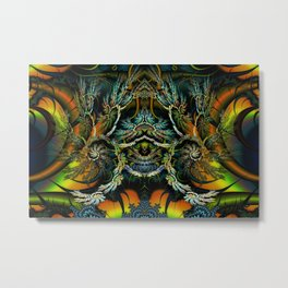 Thorne of Thornz Fractal Abstract Metal Print