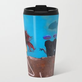 The Three Incomparable Wise Men Lecture the Unruly Giant on a Matter of Virtue Travel Mug