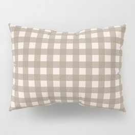 Buffalo Checks in Tan and Cream Pillow Sham