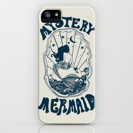 MYSTERY MERMAID iPhone Case