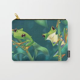 I Love Being Green! Carry-All Pouch