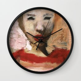 Scarlett/Newspaper Serie Wall Clock