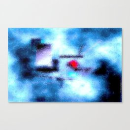 A Little Heaven in Hell Canvas Print