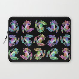 Glass Frogs All-Over Laptop Sleeve