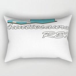Auntisaurus Rex Rectangular Pillow