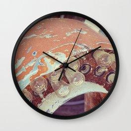 Beat Down Wall Clock
