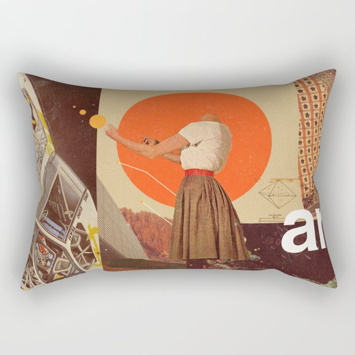 Archival World Rectangular Pillow