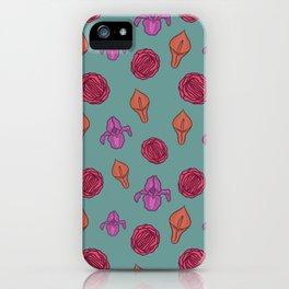 Vagina flowers iPhone Case