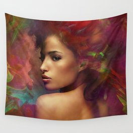 fantasy woman sensation Wall Tapestry