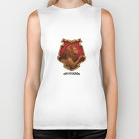iphone 5 case Biker Tanks featuring Gryffindor iPhone 4 4s 5 5c, pillow, case by neutrone