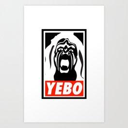 YEBO-UWS Art Print