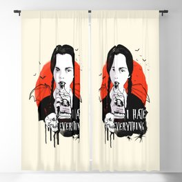 Wednesday The Addams family art Blackout Curtain
