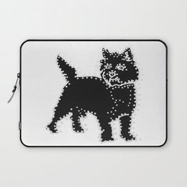 I have Connected the CAIRN TERRIER Doggy Dots! Laptop Sleeve