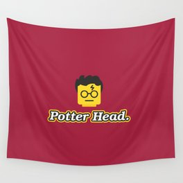 Potter Head Wall Tapestry