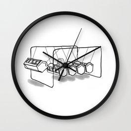 Newton's cradle Wall Clock