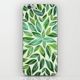 Spring Leaf Mandala iPhone Skin